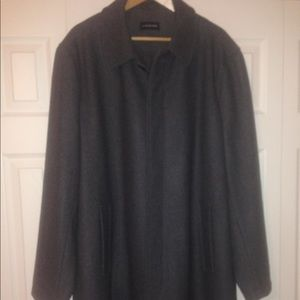 Lands End New Without Tags Size L Grey wool Coat